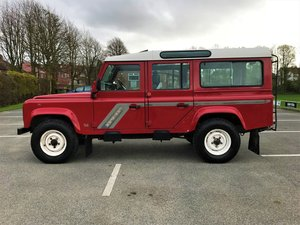 1995 Defender 110 CSW 300 Tdi- GENUINE 44K MILES - USA EXPORTABLE For Sale