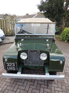 Land Rover Series One 1952