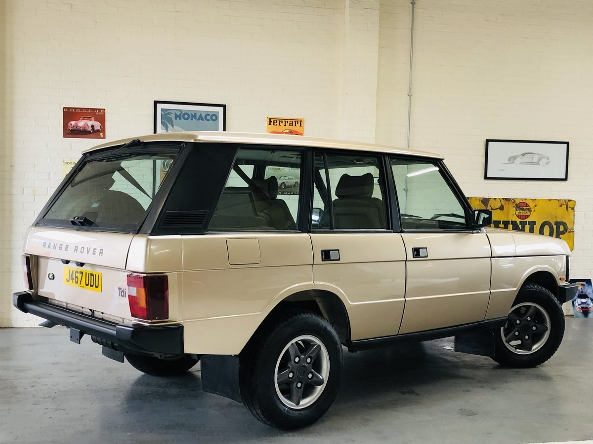 1992 RANGE ROVER CLASSIC 200 TDI - LHD - FULLY RESTORED SOLD (picture 2 of 6)