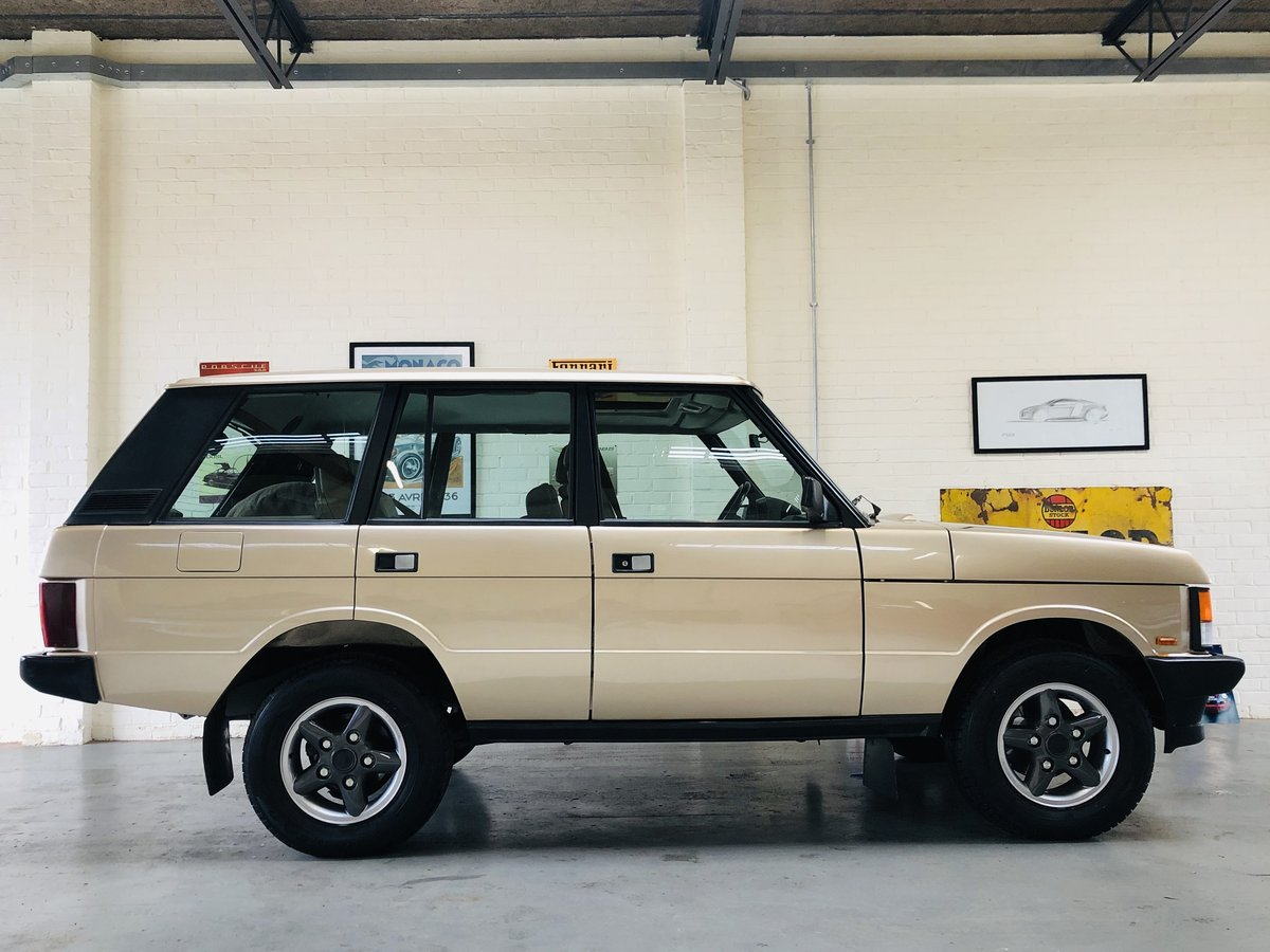 1992 RANGE ROVER CLASSIC 200 TDI - LHD - FULLY RESTORED SOLD (picture 3 of 6)