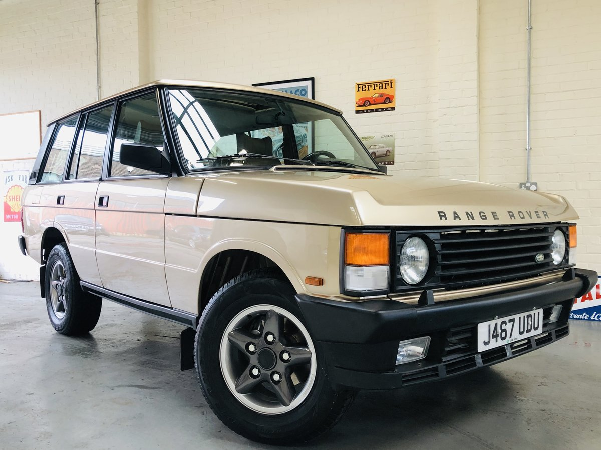 1992 RANGE ROVER CLASSIC 200 TDI - LHD - FULLY RESTORED SOLD (picture 1 of 6)