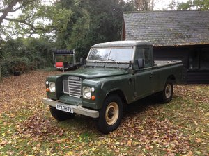 1980 Land Rover Series 3 109""