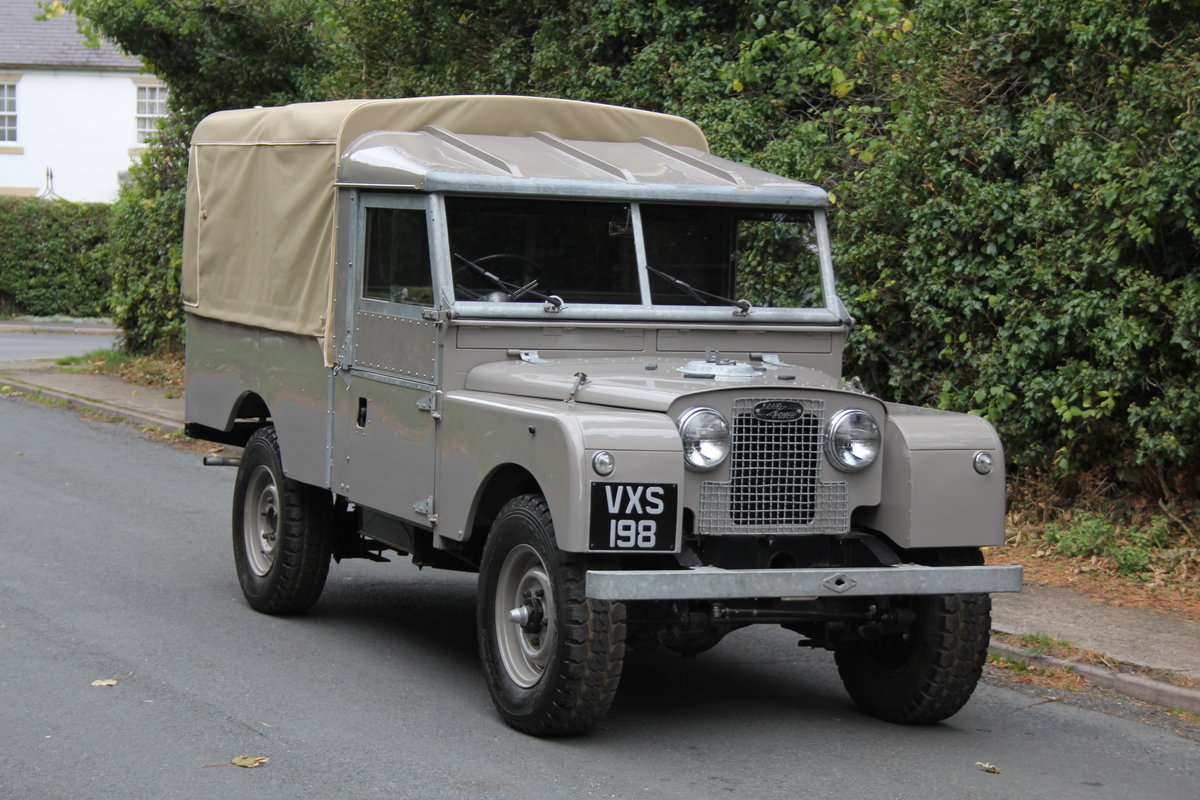 1955 Land Rover Series One Pick Up Canvas Top For Sale (picture 1 of 12)