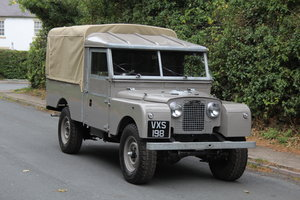 1955 Land Rover Series One Pick Up Canvas Top For Sale