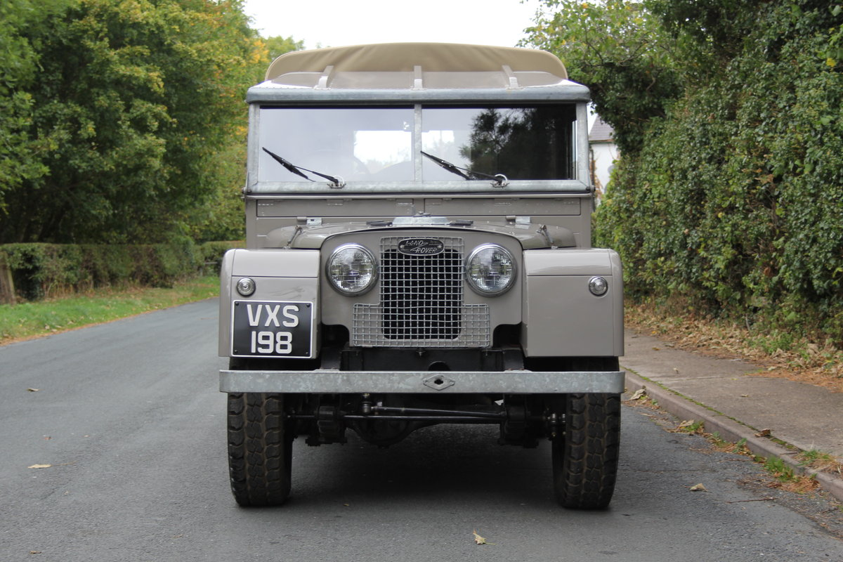 1955 Land Rover Series One Pick Up Canvas Top For Sale (picture 2 of 12)
