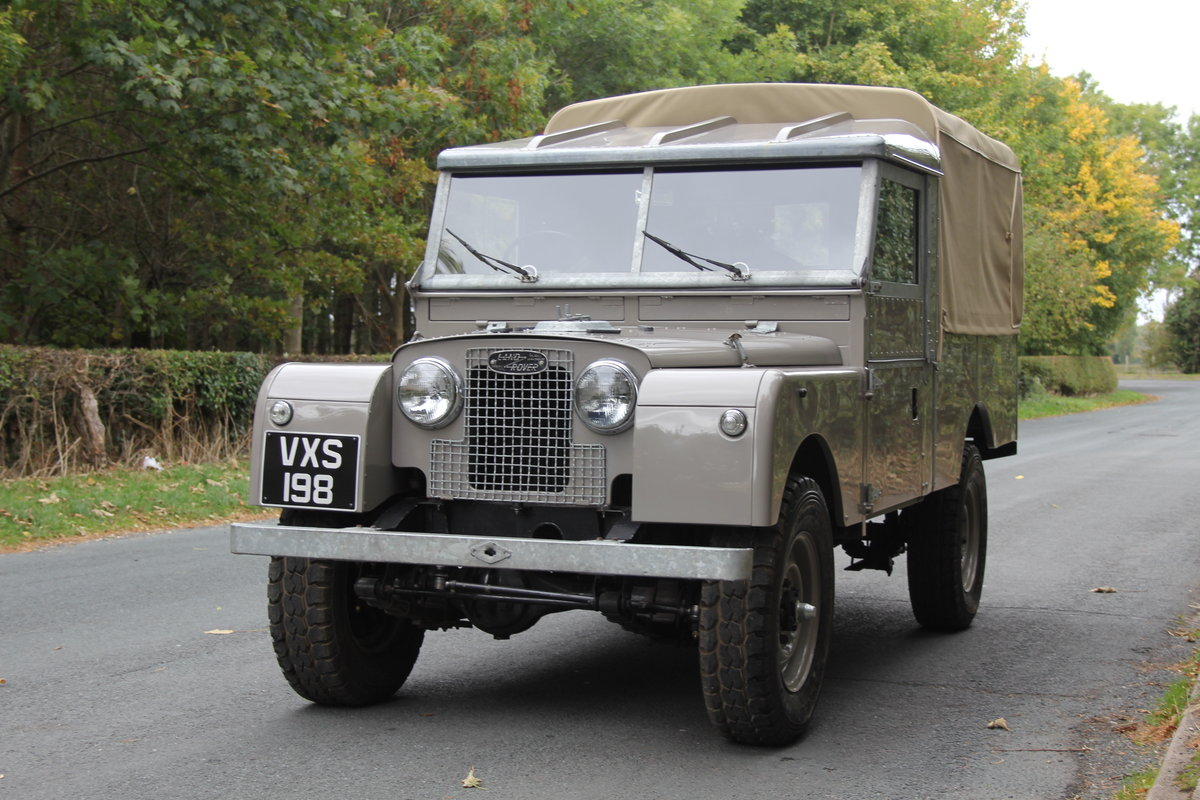 1955 Land Rover Series One Pick Up Canvas Top For Sale (picture 3 of 12)