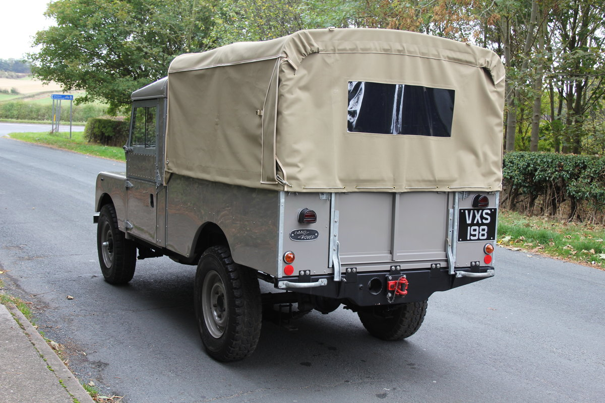 1955 Land Rover Series One Pick Up Canvas Top For Sale (picture 4 of 12)
