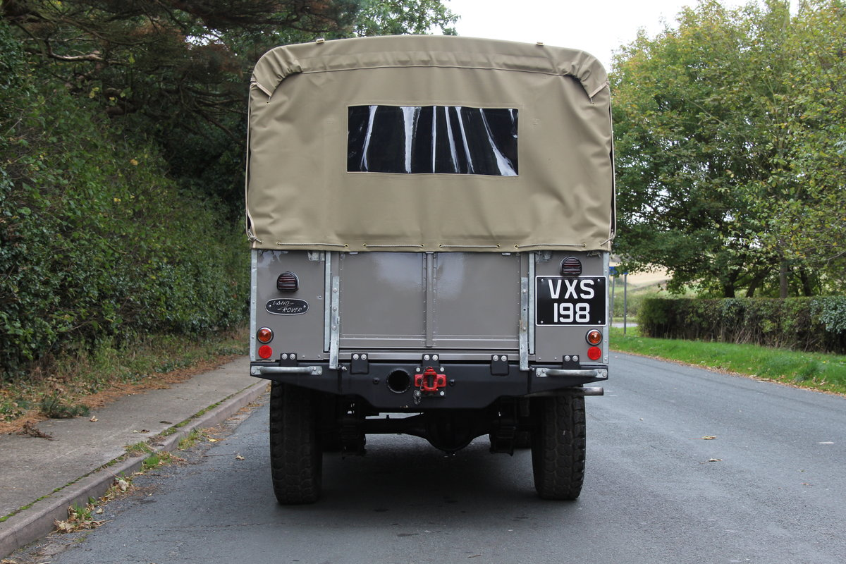 1955 Land Rover Series One Pick Up Canvas Top For Sale (picture 5 of 12)