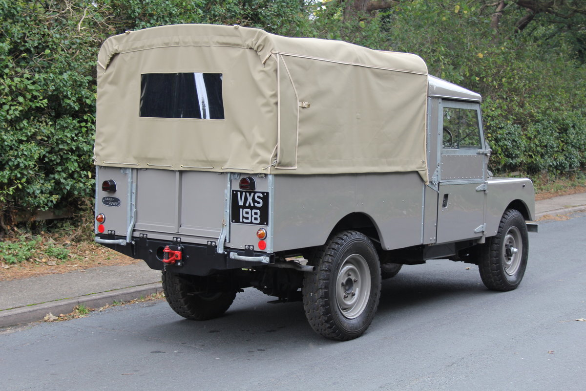 1955 Land Rover Series One Pick Up Canvas Top For Sale (picture 6 of 12)