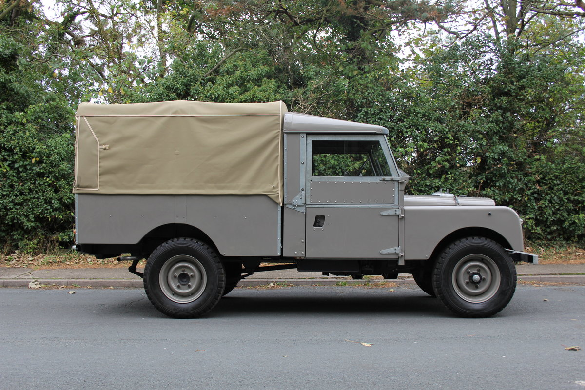 1955 Land Rover Series One Pick Up Canvas Top For Sale (picture 7 of 12)