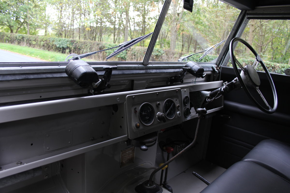 1955 Land Rover Series One Pick Up Canvas Top For Sale (picture 10 of 12)