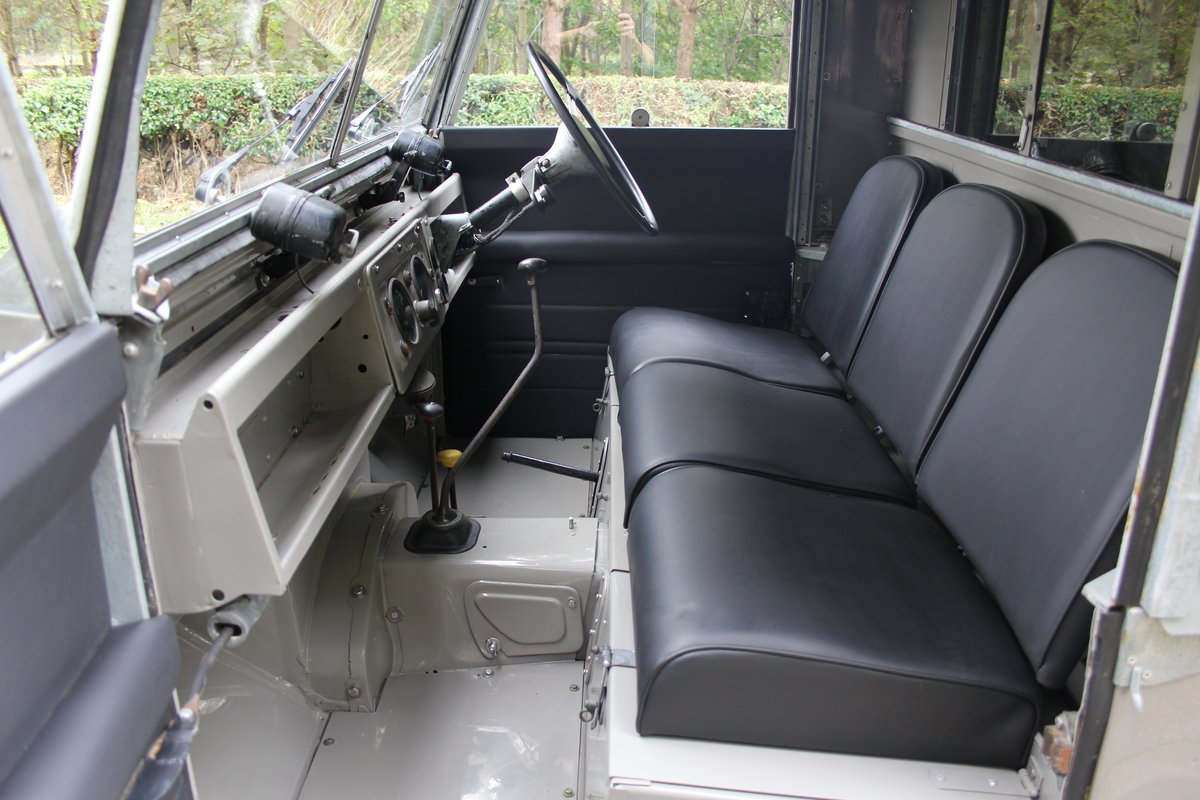 1955 Land Rover Series One Pick Up Canvas Top For Sale (picture 11 of 12)
