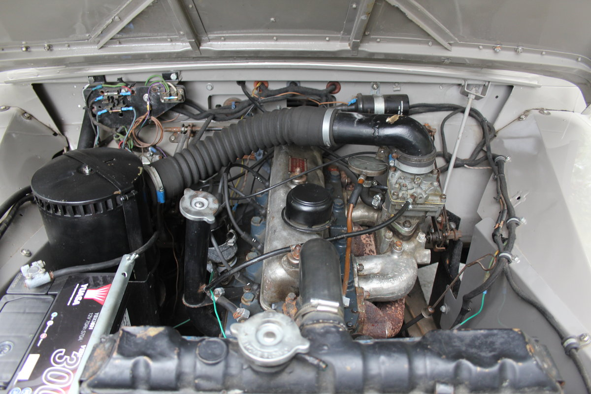 1955 Land Rover Series One Pick Up Canvas Top For Sale (picture 12 of 12)