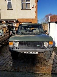 1987 Classic Range Rover