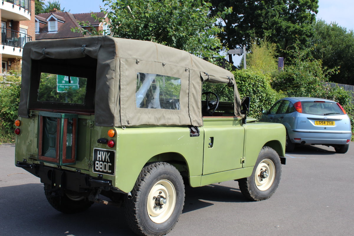 1966 Land Rover Series 2a 2.25 petrol Soft top For Sale (picture 1 of 6)