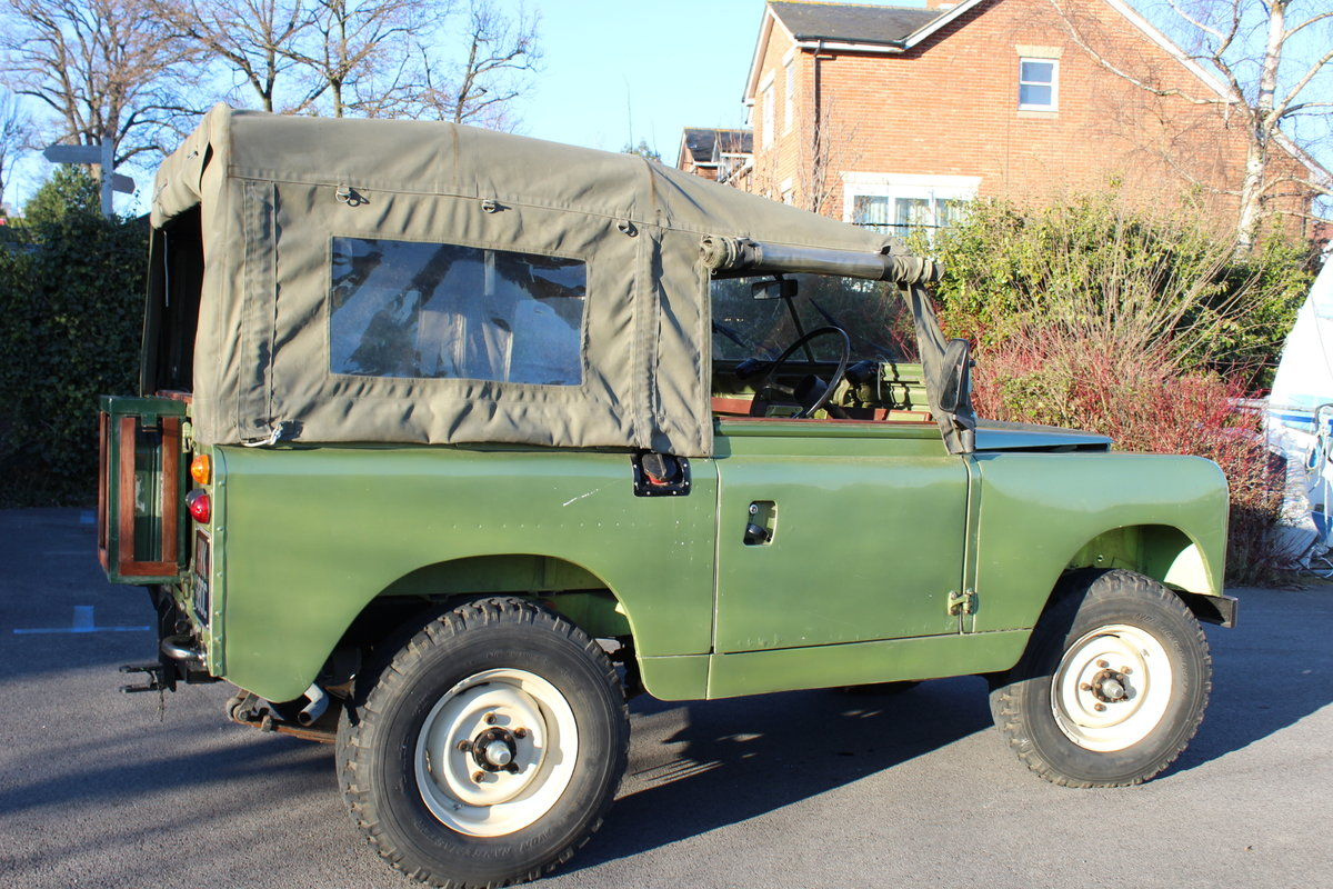 1966 Land Rover Series 2a 2.25 petrol Soft top For Sale (picture 3 of 6)