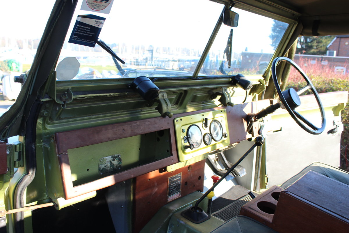 1966 Land Rover Series 2a 2.25 petrol Soft top For Sale (picture 6 of 6)