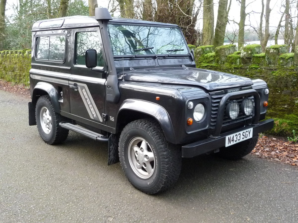 """1996 DEFENDER 90 – """"COUNTY"""" SPEC For Sale (picture 2 of 6)"""
