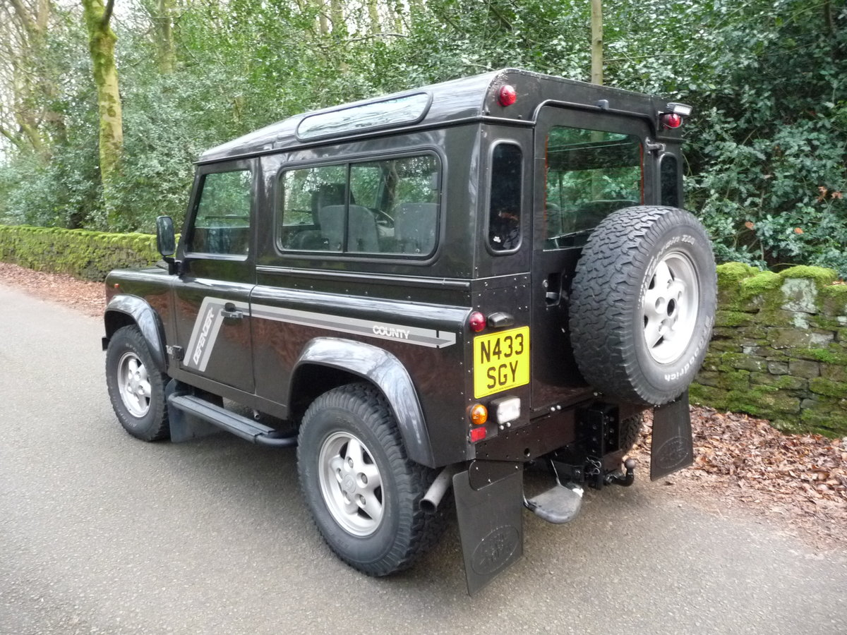 """1996 DEFENDER 90 – """"COUNTY"""" SPEC For Sale (picture 4 of 6)"""