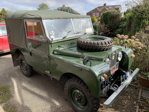 "Land Rover SERIES 1 - 1955 - 86"". For Sale"