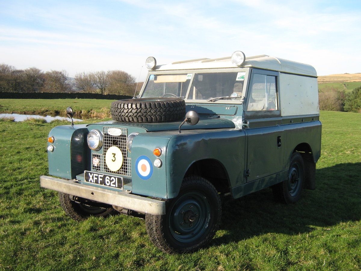 1959 Ex RAF Land Rover For Sale For Sale (picture 1 of 6)
