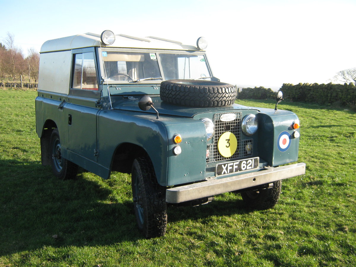 1959 Ex RAF Land Rover For Sale For Sale (picture 4 of 6)