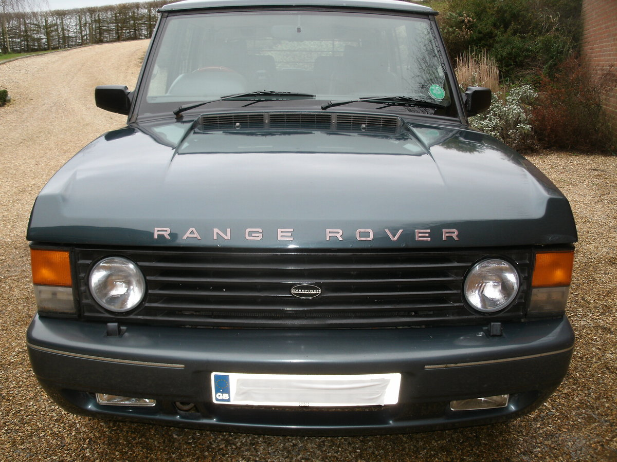 1994 Overfinch Range Rover LSE For Sale (picture 1 of 6)