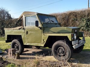 1975 Land Rover Lightweight Series III at ACA 13th April  For Sale