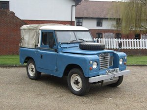 "1972 Land Rover 88"" Series III SWB at ACA 13th April  For Sale"