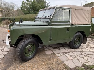 LAND ROVER SERIES 2a 200 TDI CONVERSION 1965 88""
