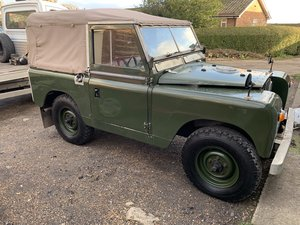 "LAND ROVER SERIES 2a 200 TDI CONVERSION 1965 88"" For Sale"