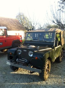 """1951 Series 1 80"""" h/lights thru grille project For Sale"""