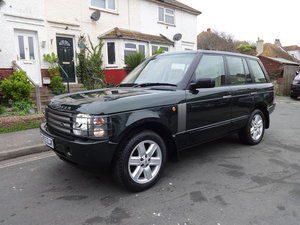 2004 RangeRover Vogue 4.4 V8 Low mileage 1 owner For Sale