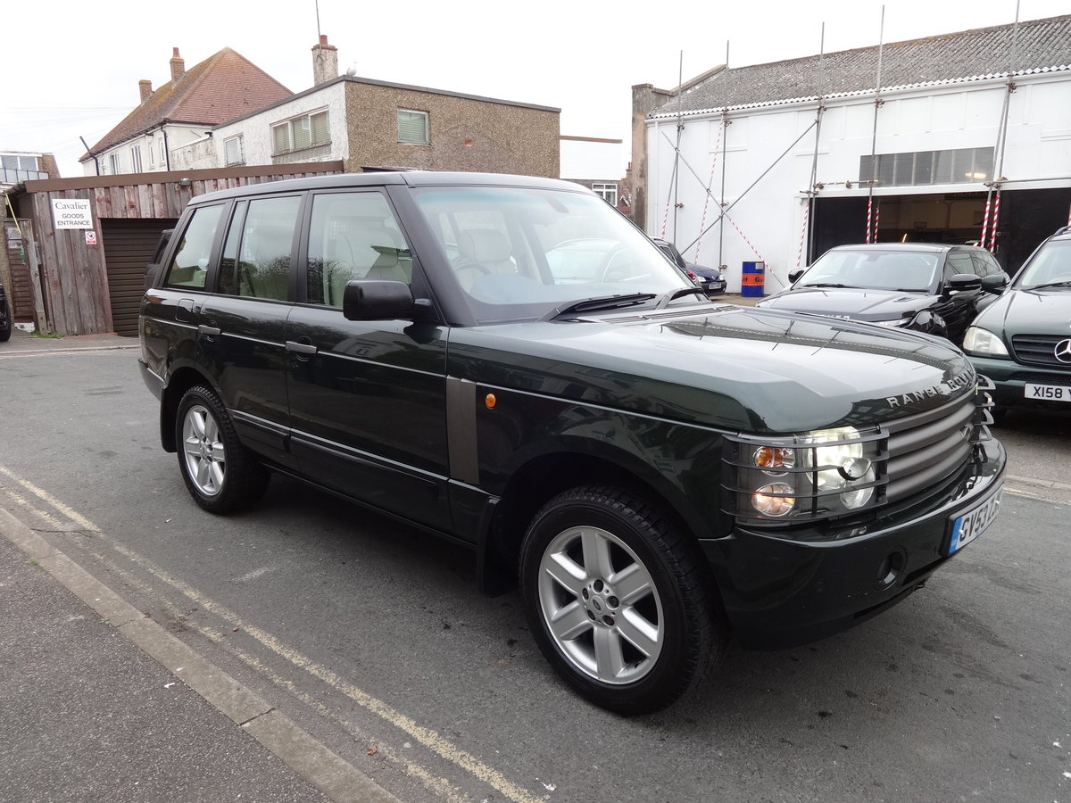 2004 RangeRover Vogue 4.4 V8 Low mileage 1 owner SOLD (picture 4 of 6)