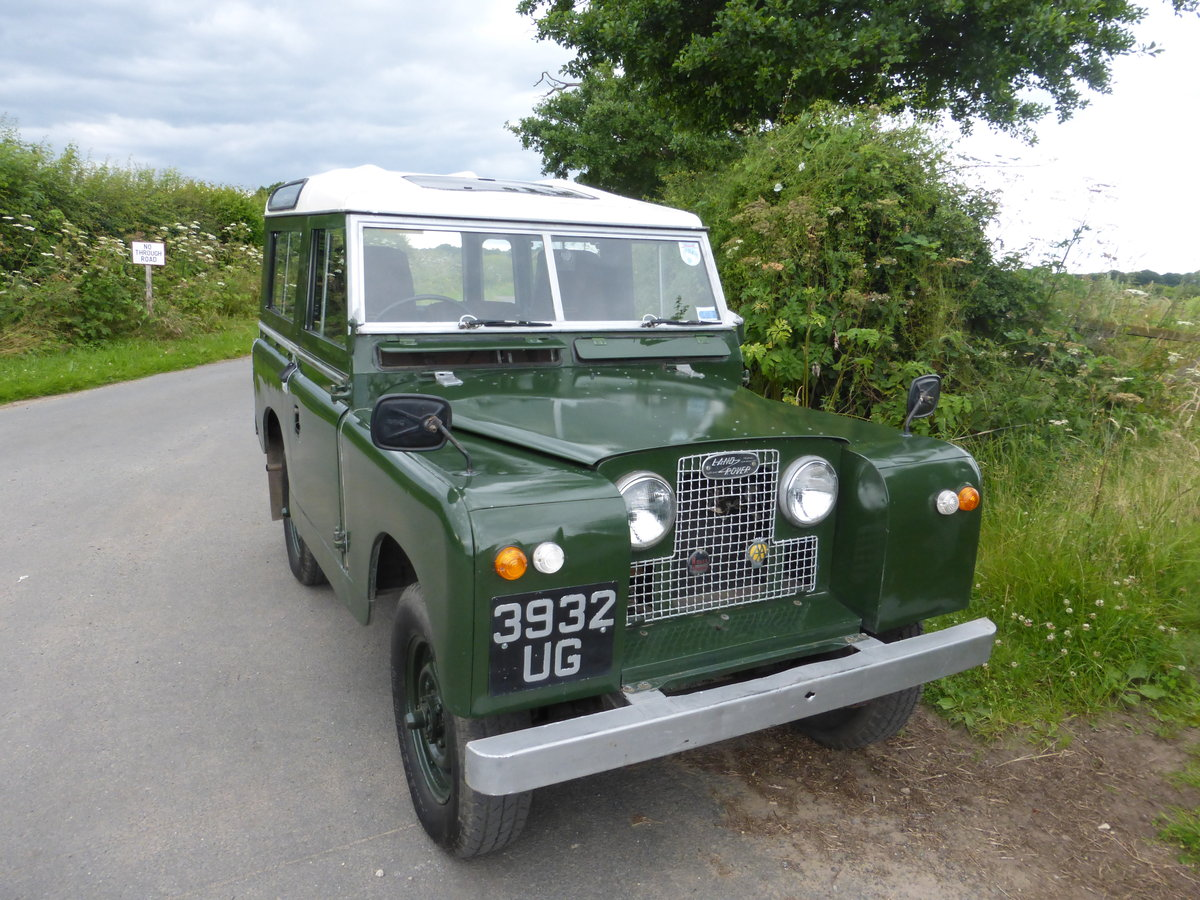 1959 Stunning usable series 2 2.25 petrol land rover For Sale (picture 1 of 6)