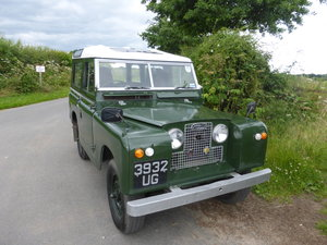 1959 Stunning usable series 2 2.25 petrol land rover