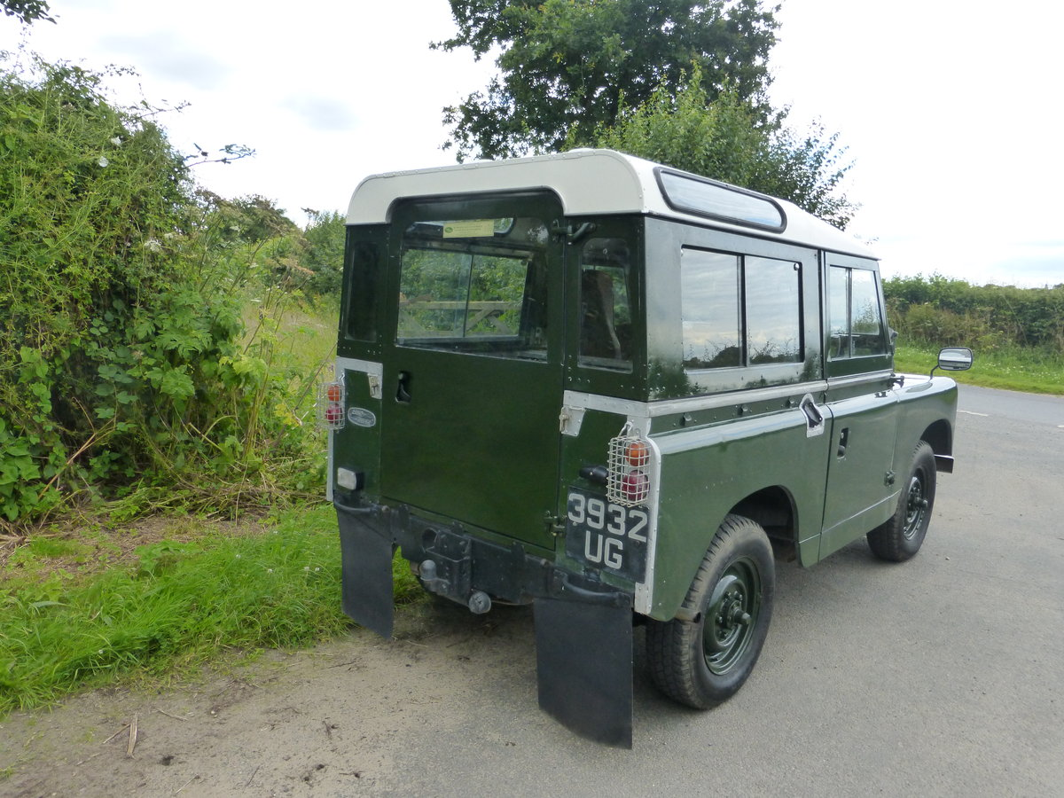 1959 Stunning usable series 2 2.25 petrol land rover For Sale (picture 2 of 6)