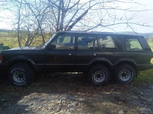 1972 Range Rover Classic 6x6 Suffix A? Wood & Pickett? For Sale