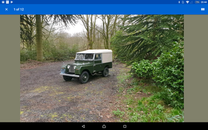 "Series 1 Landrover 88"" 1958 For Sale"