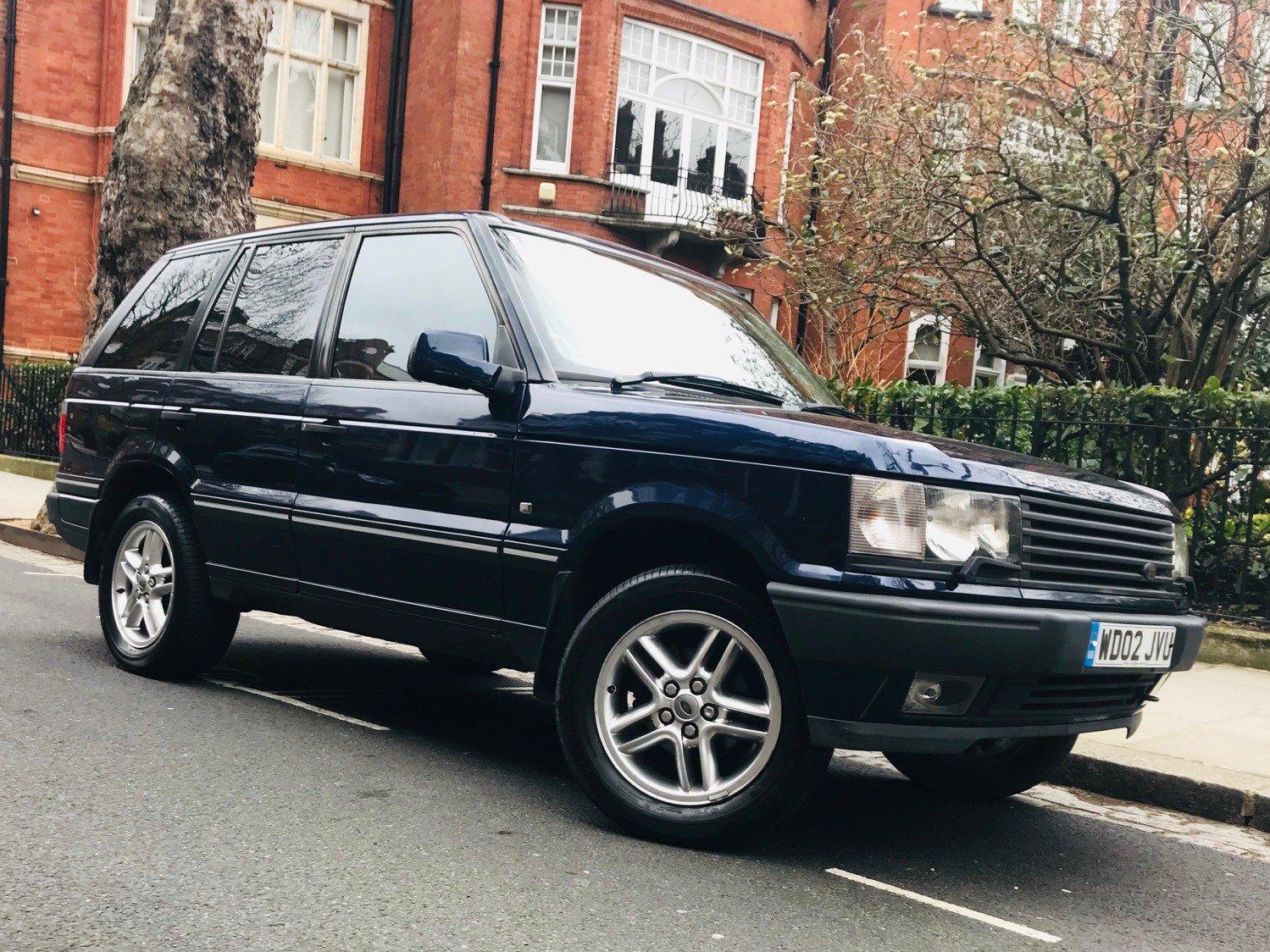 2002 Range Rover Vogue P38 83 000 Miles For Sale Car