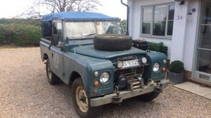 "Land Rover Series III Soft Top (1981 Diesel 88"") For Sale"