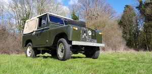 1964 Land Rover Series 2a. Truck Cab. Petrol 2.25.