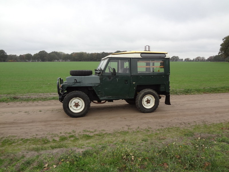 Land-Rover 88 Lightweight 1976 SOLD (picture 1 of 6)