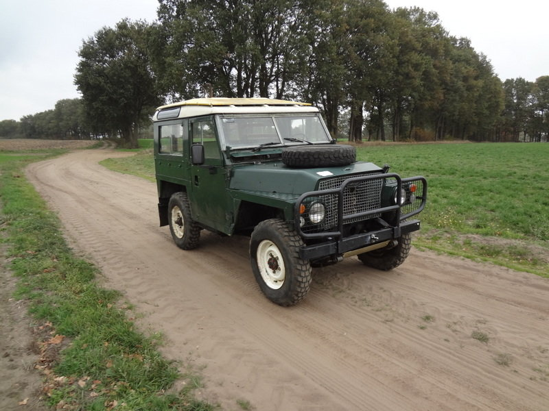 Land-Rover 88 Lightweight 1976 SOLD (picture 2 of 6)