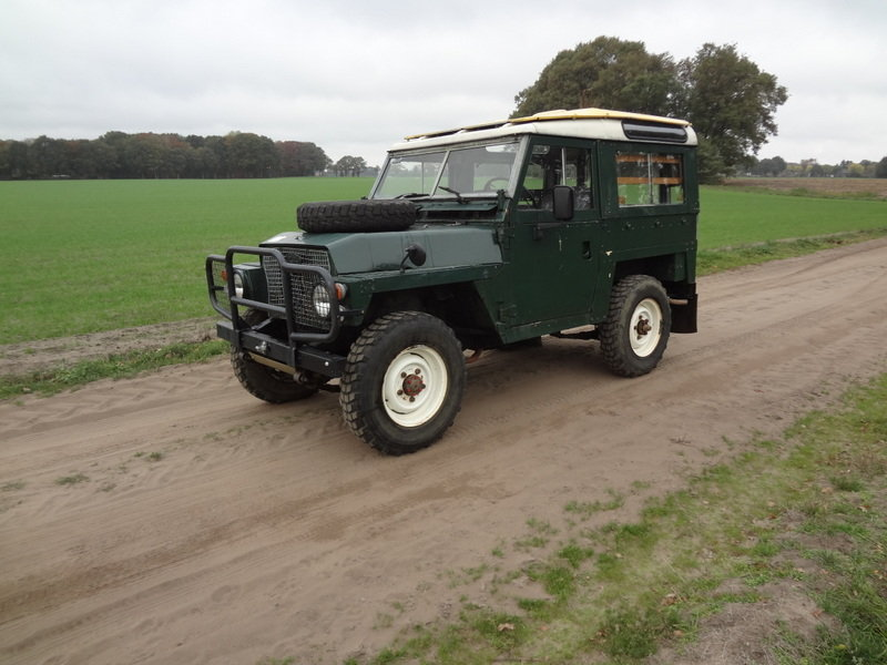 Land-Rover 88 Lightweight 1976 SOLD (picture 3 of 6)