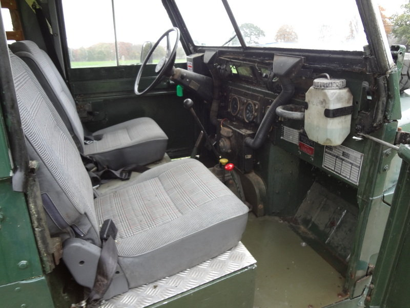 Land-Rover 88 Lightweight 1976 SOLD (picture 5 of 6)