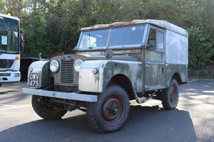 Land Rover Series 1 1957 - to be auctioned 26-04-2019