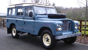 1980 Land Rover 109 For Sale by Auction