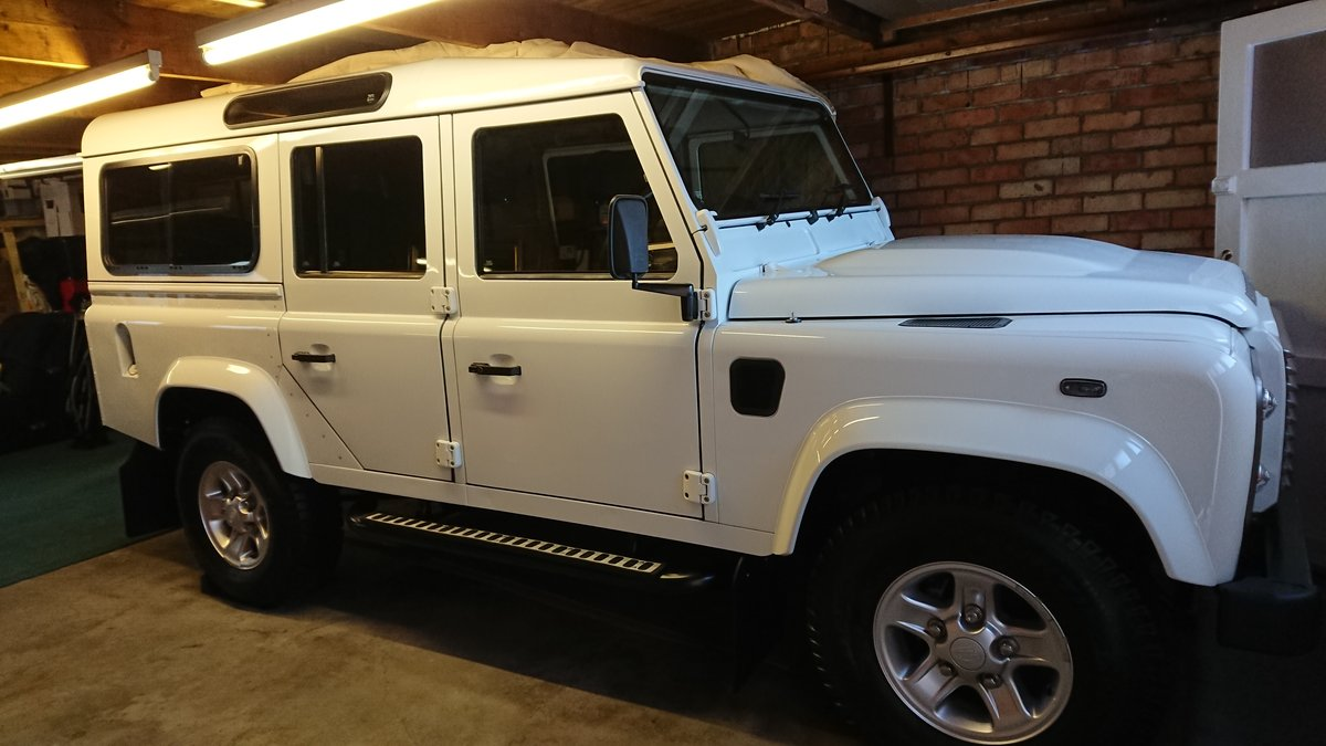 2014 LAND ROVER DEFENDER 110 TDCI STATION WAGON For Sale (picture 1 of 6)