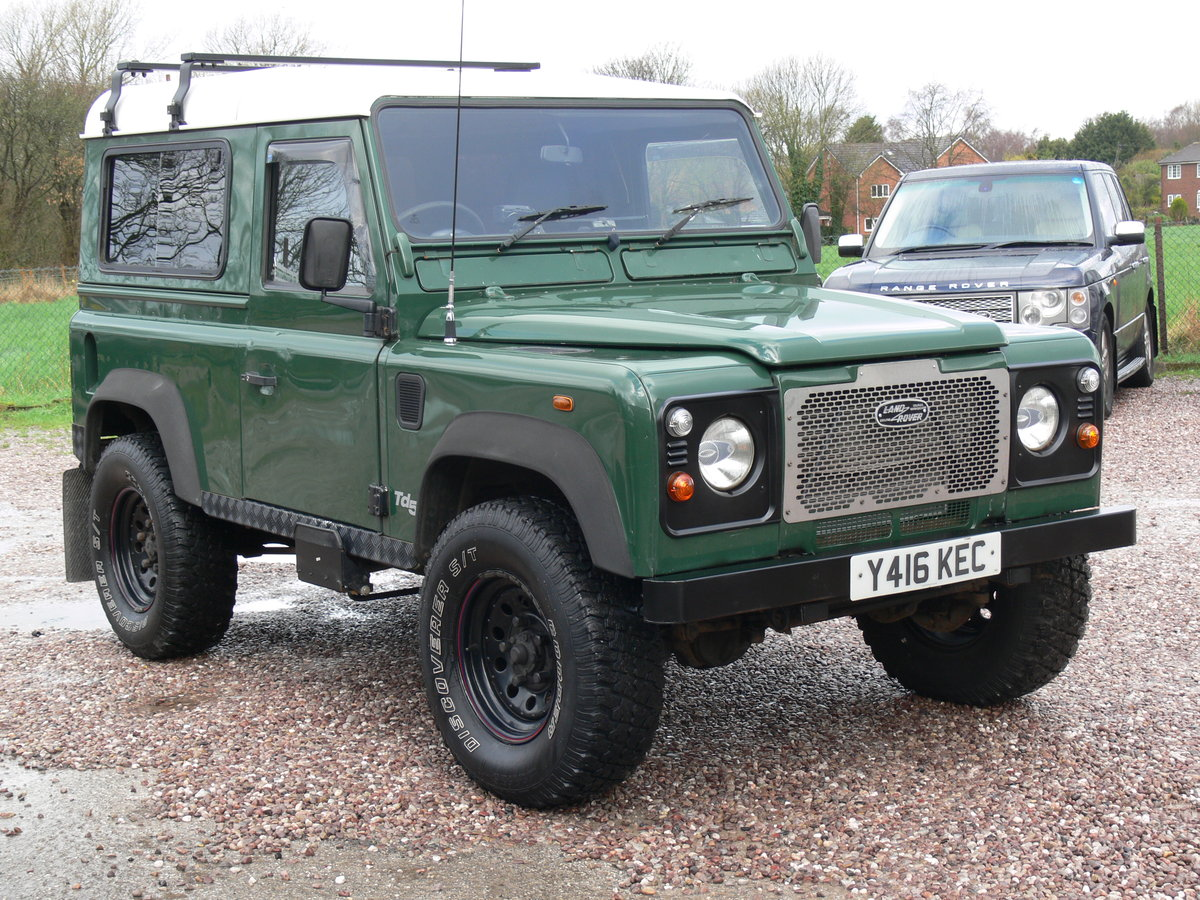 2001 Low Milage Land Rover Defender 90 with 12 mths MOT SOLD (picture 6 of 6)